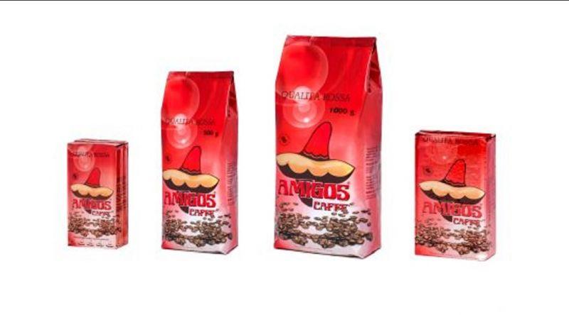 Amigos Caffè promozione vendita produzione caffè italiano in grani e macinato