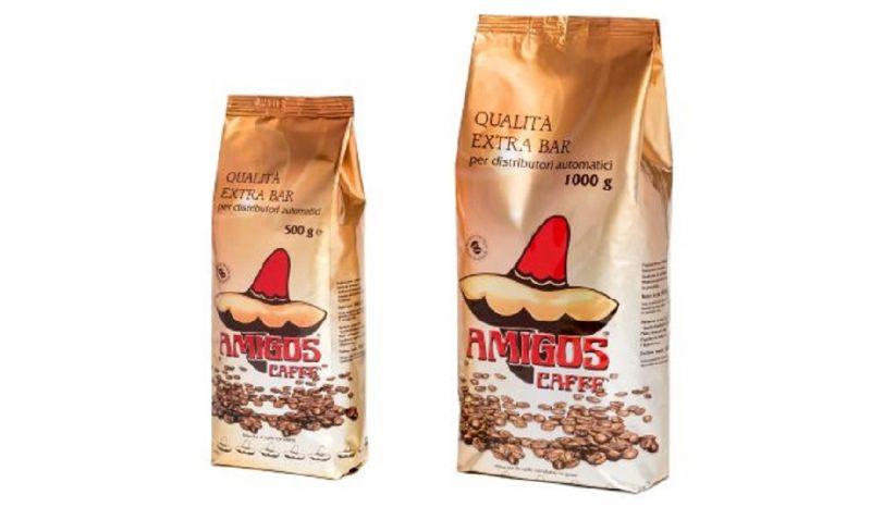 Amigos Caffè offerta produzione vendita caffè italiano in grani - Occasione produzione caffè