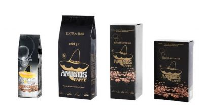amigos caffe offerta vendita caffe italiano in grani macinato in cialde e in capsule