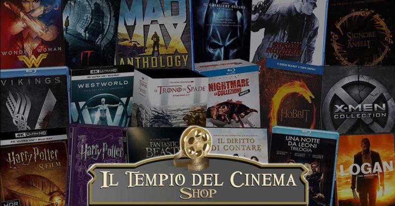 IL TEMPIO DEL CINEMA Offerta vendita Blu Ray Rari Roma - Occasione Blu Ray Fuori Catalogo Roma