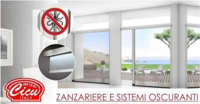 infissi cicu offerta zanzariere scorrevoli mv line e sistemi oscuranti suncover
