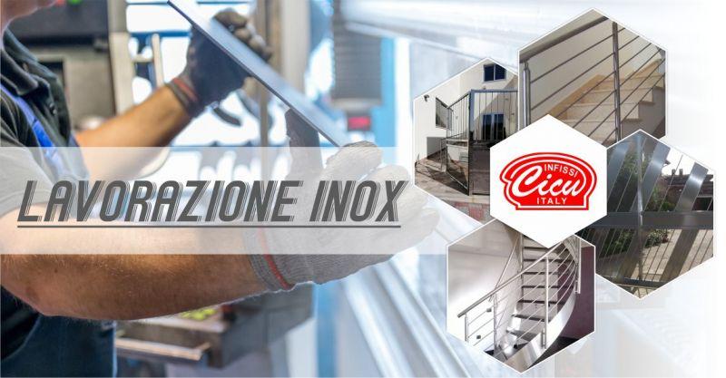 INFISSI CICU - offerta lavorazioni su misura in acciaio inox