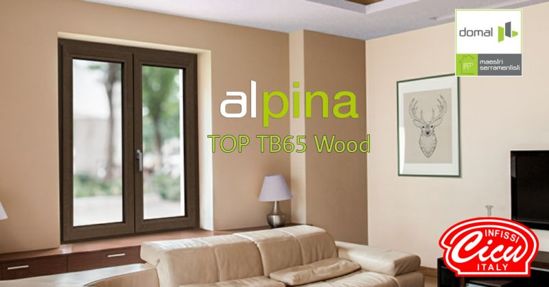 INFISSI CICU - offerta finestra legno e alluminio Alpina Domal