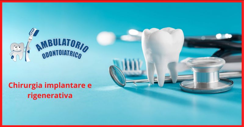 Offerta chirurgia implantare roma - occasione chirurgia rigenerativa dentale roma