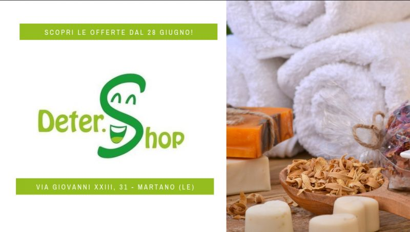 Offerta deter shop lecce - offerta doposole lecce - offerta detergente lecce - igiene personale
