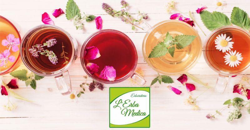 offerta vendita infusi e tisane erboristeria Montagnola - occasione prodotti naturali biologici