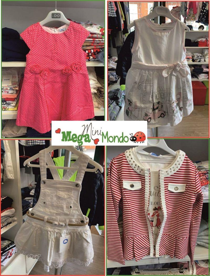 promozione negozio abbigliamento bambini dai 0 a 16 anni Pistoia
