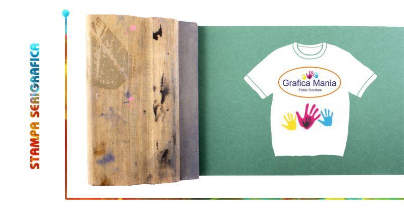 GRAFICA MANIA offerta servizio stampa serigrafica montesano - stampa su maglietta montesano