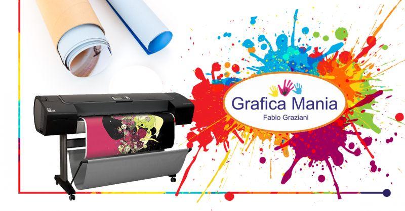 GRAFICA MANIA - offerta studio stampa digitale professionale montesano marcellana