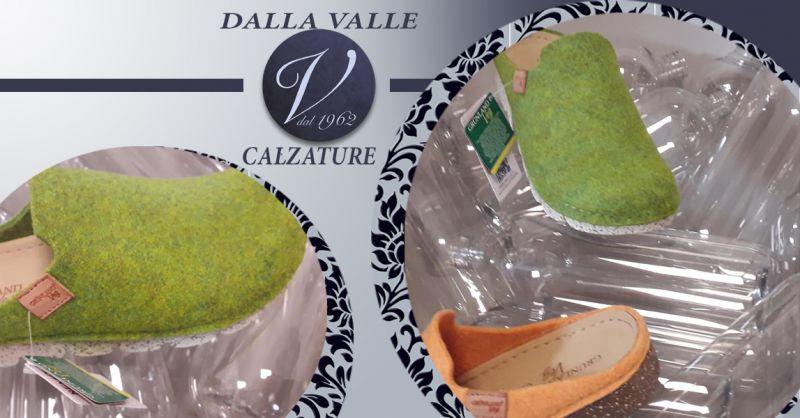 Offerta Pantofole Scarpe e borse GRUNLAND Vicenza - Occasione Ciabatte in feltro GRUNLAND Vicenza