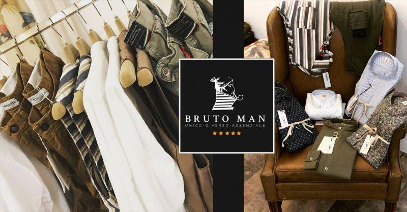 offerta negozio abbigliamento solo uomo Vicenza - occasione Bruto moda maschile Vicenza