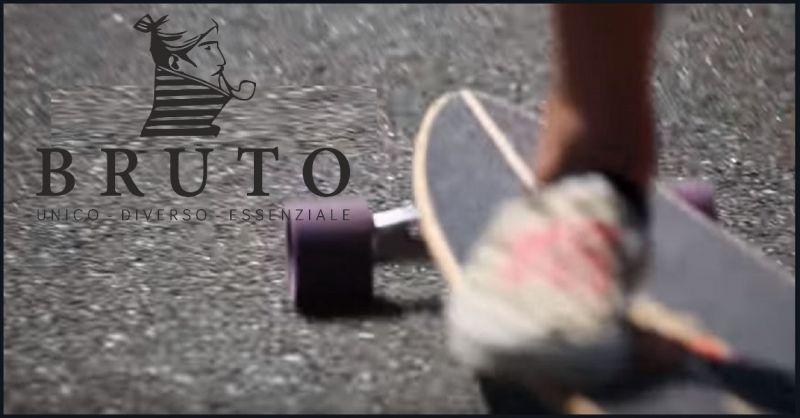 BRUTO offerta Longboards fattii a mano - Occasione realizzazione vendita online skateboards