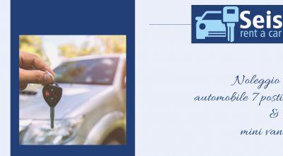 seis rent offerta noleggio auto sette posti catanzaro promozione noleggio minivan catanzaro