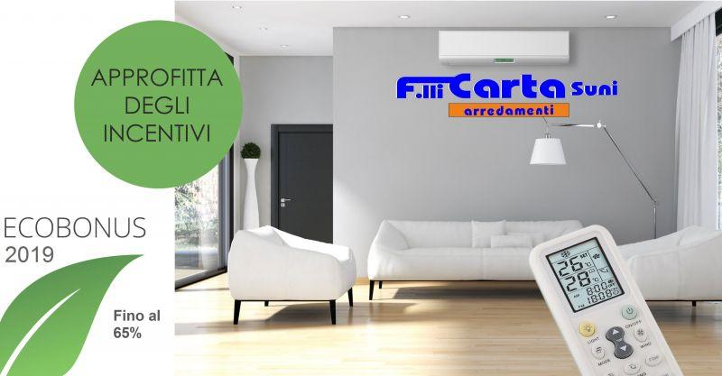 F.lli Carta - offerta installazione condizionatore pompa di calore detrazione fiscale Ecobonus