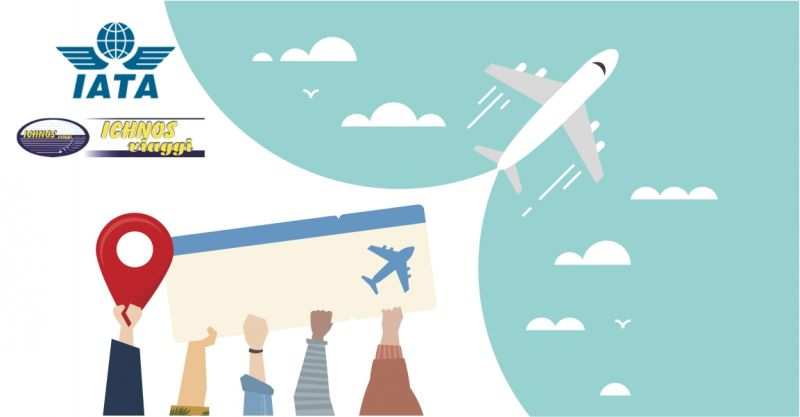 AGENZIA VIAGGI ICHNOS ACCREDITATA IATA - OFFERTA PRENOTAZIONI AEREE GARANTITE E SICURE