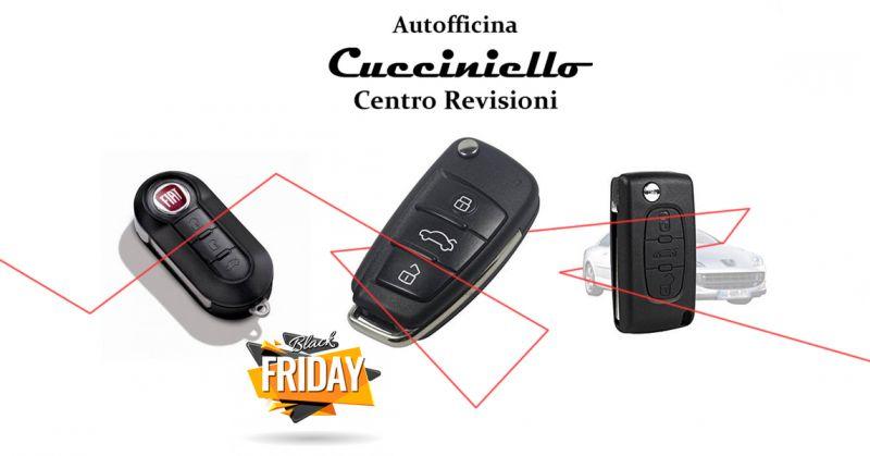 OFFICINA CUCCINIELLO Offerta black Friday telecomando per auto Fiat Solofra provincia Avellino