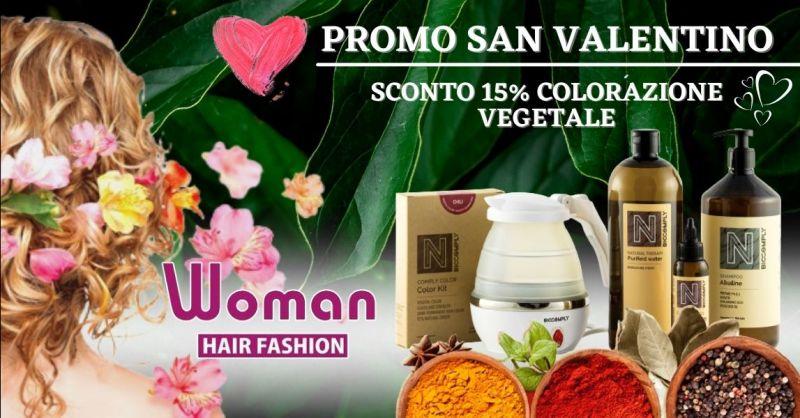Offerta colorazione per capelli vegetale senza ammoniaca - Promozione colore capelli in gravidanza Terni