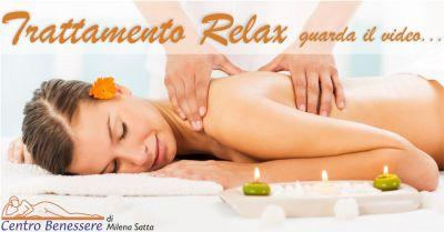 centro benessere sorgono offerta trattamento relax total body