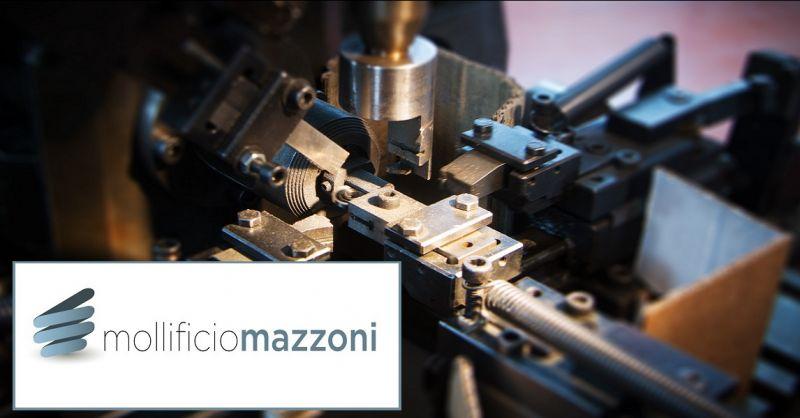 Mollificio Mazzoni - Offerta progettazione lavorazione costruzione molle a filo made in Italy