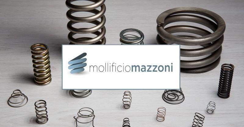 MOLLIFICIO MAZZONI SRL - Molle a compressione cilindriche made in Italy