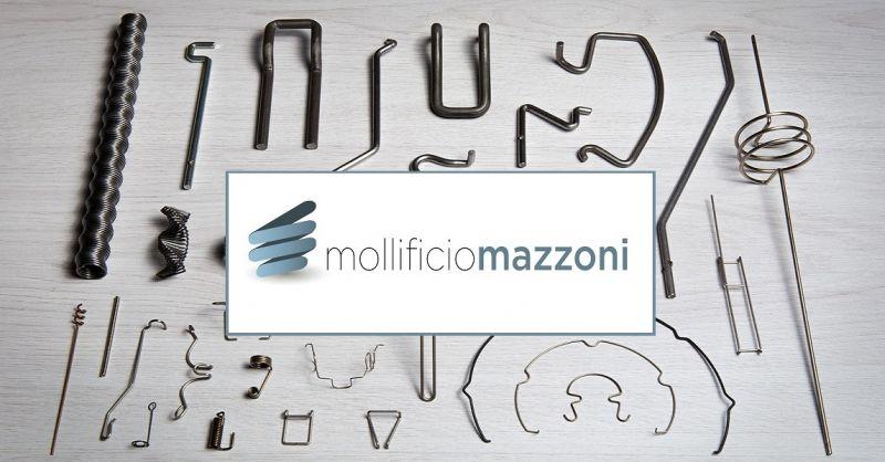MOLLIFICIO MAZZONI SRL - Molle sagomate realizzate con filo tondo made in Italy