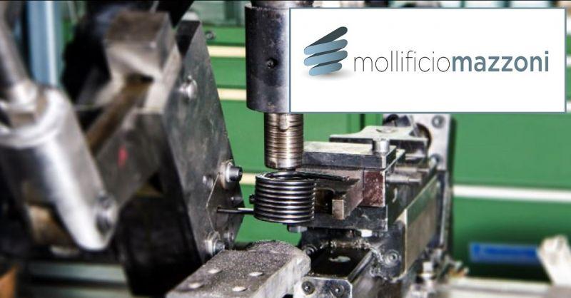 Mollificio Mazzoni - Promozione lavorazione costruzione di molle a filo made in Italy
