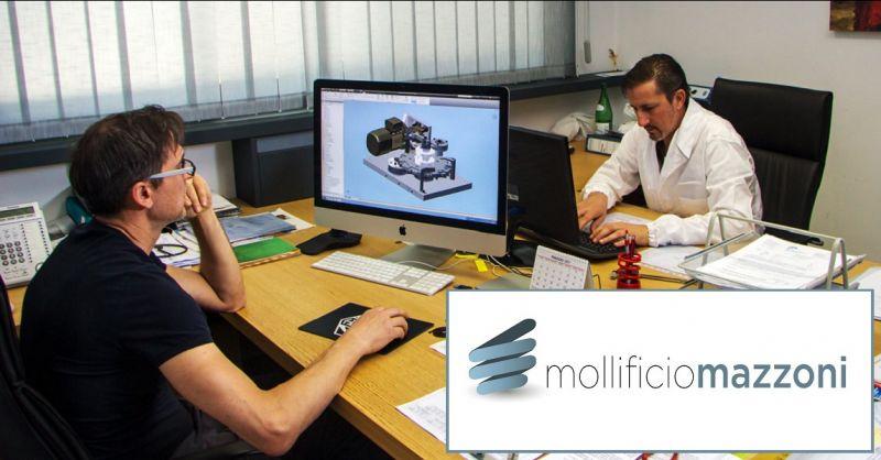 MOLLIFICIO MAZZONI - Promozione servizio consulenza progettazione molle industriali made Italy