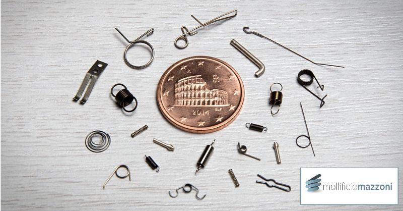 Mollificio Mazzoni - Angebot zur Herstellung von Mikrofedern und Spiralfedern