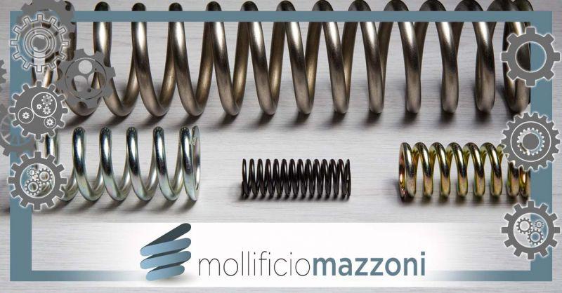 MOLLIFICIO MAZZONI SRL - Cerca la migliore azienda Italiana produttrice di molle a compressione