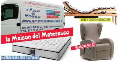 offerta vendita materassi a jesi promozione vendita poltrone relax reti doghe a jesi