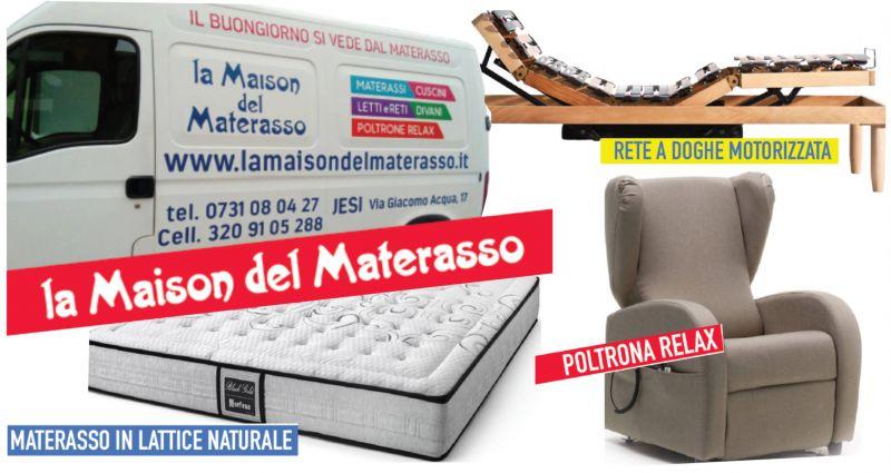 offerta vendita materassi a jesi - promozione vendita poltrone relax reti doghe a jesi