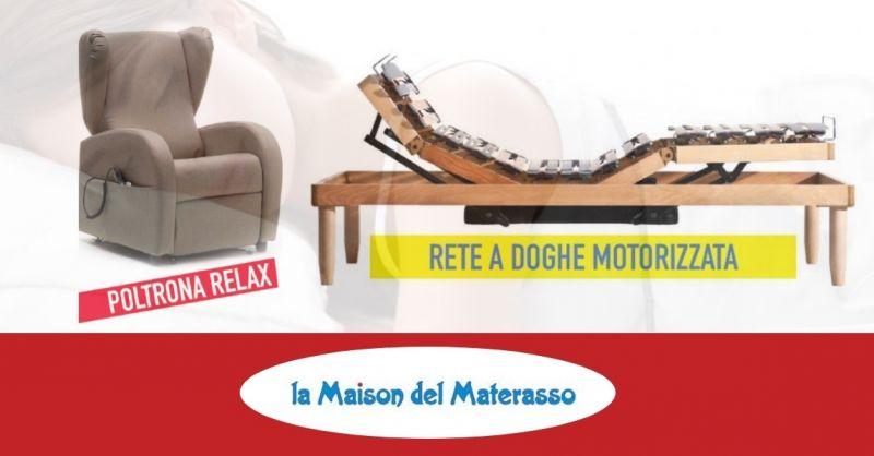 Offerta vendita poltrone relax 2 motori e reti a doghe - occasione vendita poltrone e reti Jesi