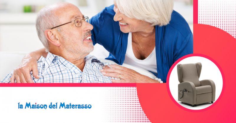 LA MAISON DEI MATERASSI offerta vendita poltrona relax jesi-occasione poltrona reclinabile jesi