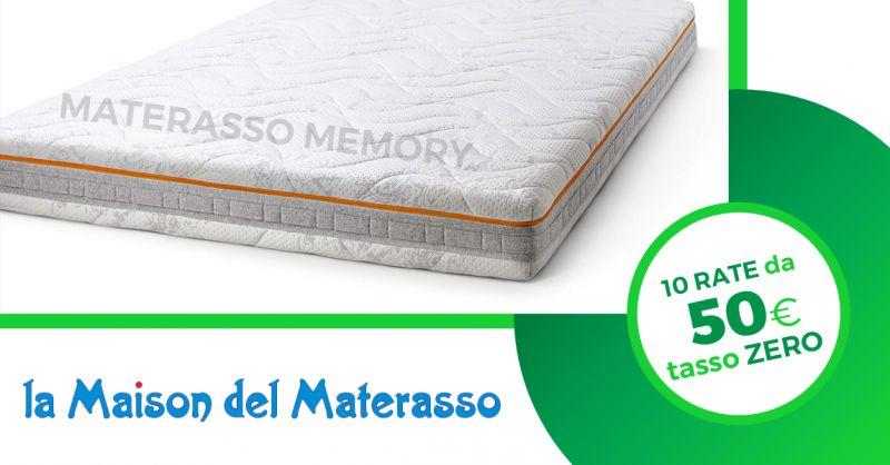 LA MAISON DEI MATERASSI - offerta materasso memory dispositivo medico rate tasso zero jesi