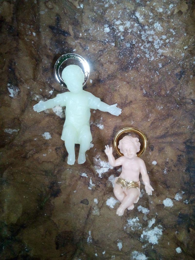 Gesù Bambino plastica