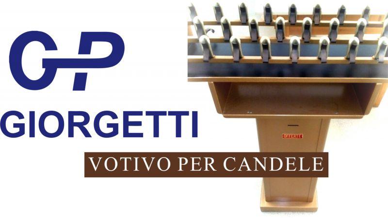 offerta vendita votivo per candele di cera per offerte chiesa  loreto