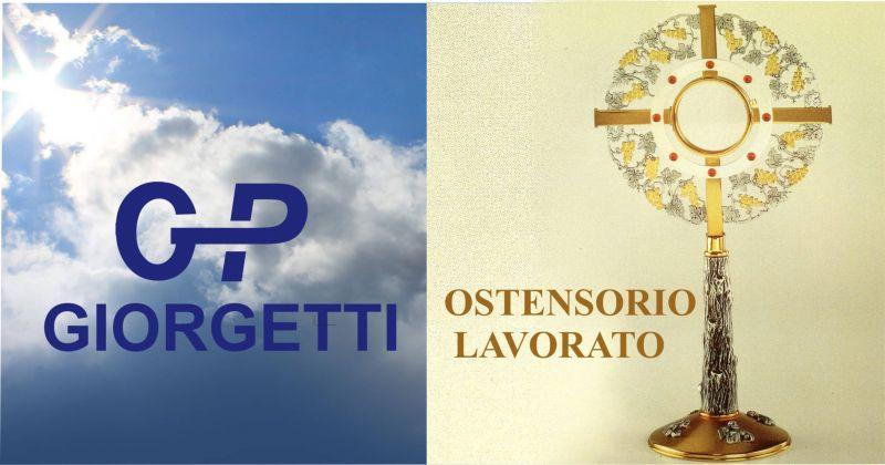 offerta lavorazione e vendita ostensorio in ottone - promozione ostensorio made in italy