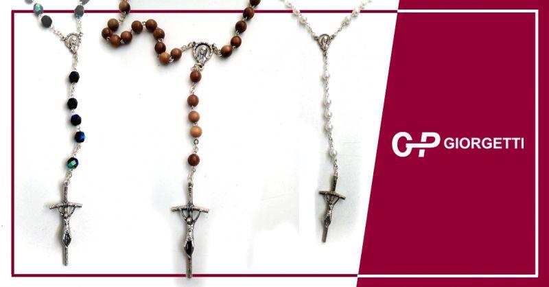 GP GIORGETTI offerta corone rosario fatte a mano - occasione rosari coronare loretane