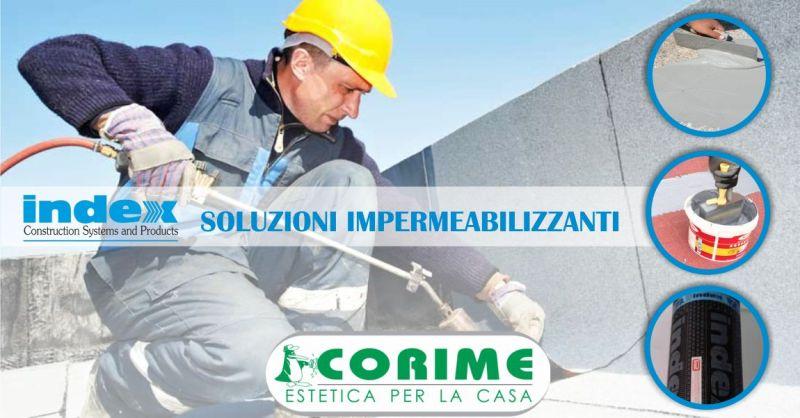 COLORIFICIO CORIME VILLAURBANA - guaine e membrane impermeabilizzanti Index