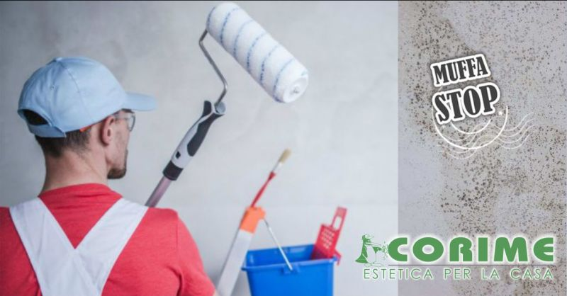 COLORIFICIO CORIME VILLAURBANA - offerta soluzioni per combattere e prevenire muffe pareti casa