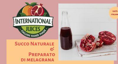 international juices promozione lavorazione melograno italia occasione succo melograno italia