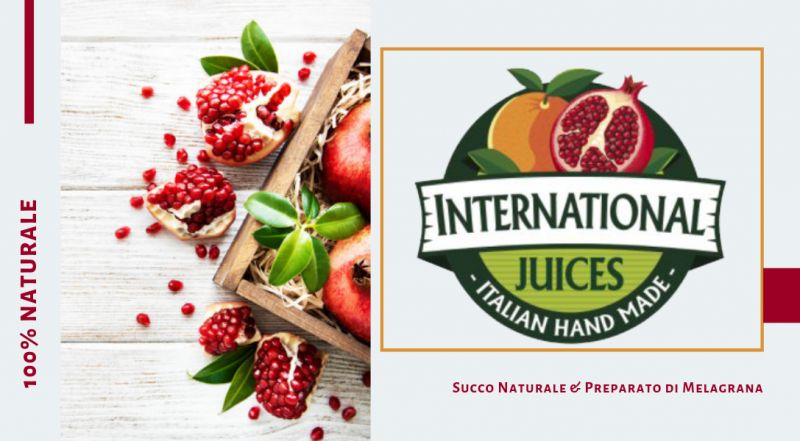 International Juice promozione Succo Naturale melagrana - offerta Preparato di melagrana