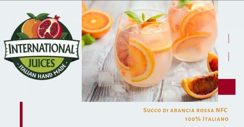 International Juices promozione Succo arancia rossa Italiana - offerta succo arancia rossa cala