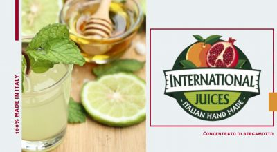 international juices offerta concentrato bergamotto calabrese promozione succo bergamotto