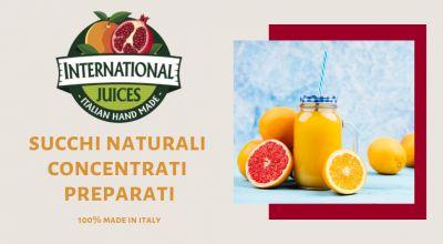 international juices offerta succhi di frutta semilavorati promozione succhi di frutta italia