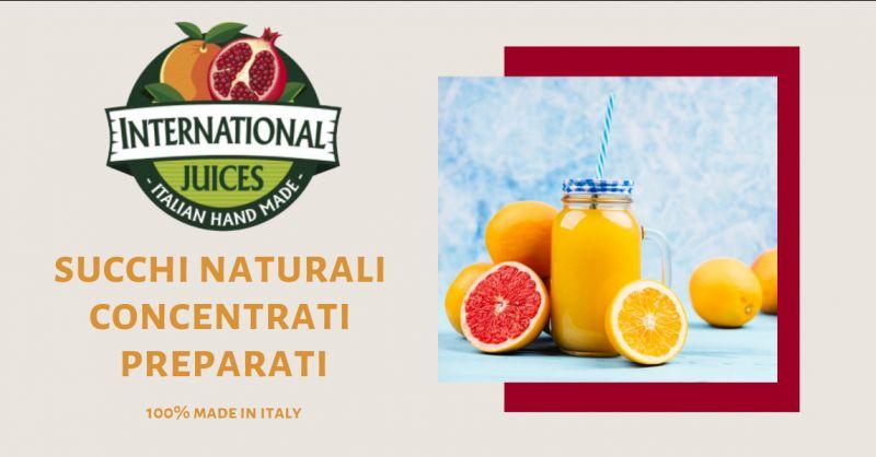 International Juices offerta succhi di frutta semilavorati - promozione succhi di frutta italia