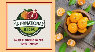 international juices offerta succo clementina calabrese occasione succo di mandarino italiano