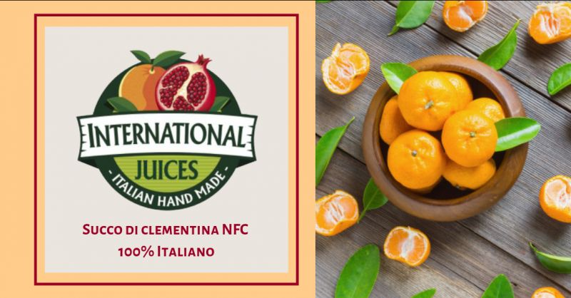 International Juices offerta Succo clementina calabrese ?