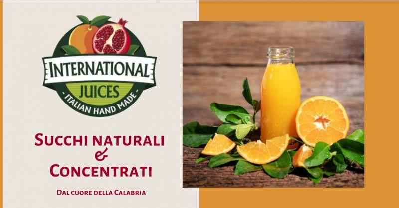 International Juices occasione fornitura semilavorati industriali - offerta succhi frutta itali