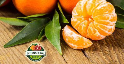 international juices offerta produzione di succo di clementina promozione spremute di mandarino naturale senza ogm